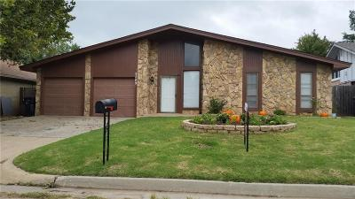 Oklahoma City OK Single Family Home For Sale: $114,900