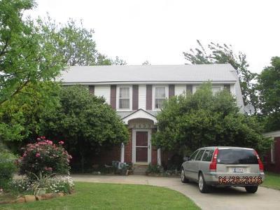Oklahoma City OK Single Family Home For Sale: $136,000