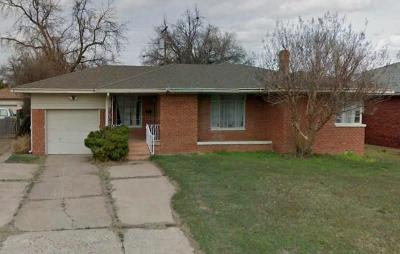 Oklahoma City OK Single Family Home For Sale: $50,000
