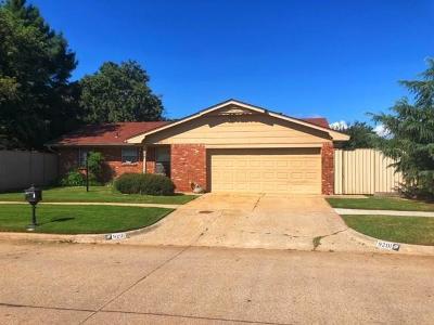 Oklahoma City OK Single Family Home For Sale: $96,500