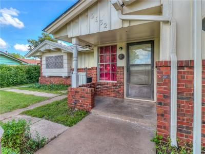 Oklahoma City OK Single Family Home For Sale: $129,000