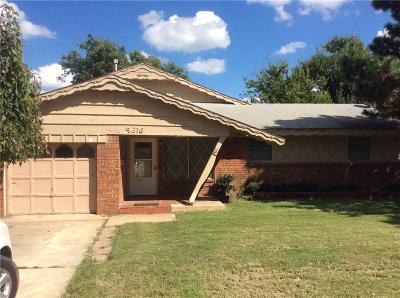Bethany Single Family Home For Sale: 5216 N Mueller Avenue