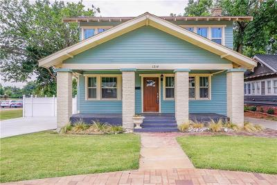 Oklahoma City Single Family Home For Sale: 1214 NW 36th