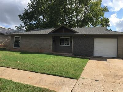 Del City Single Family Home For Sale: 3312 Eastwood Circle