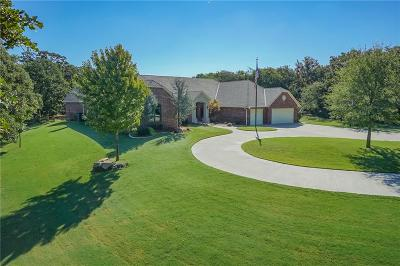 Single Family Home For Sale: 640 S Indian Meridian