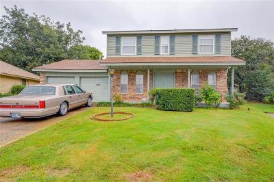 Del City Single Family Home For Sale: 3516 Ridglea Court