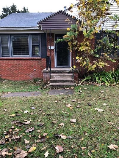Del City Single Family Home For Sale: 4013 SE 26th Street