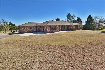Mustang Single Family Home For Sale: 1124 S Clear Springs
