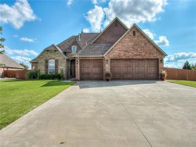 Mustang Single Family Home For Sale: 516 E Amelia Terrace
