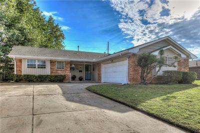 Midwest City Single Family Home For Sale: 708 Fairlane Drive