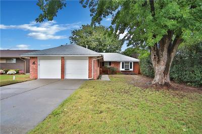 Del City Single Family Home For Sale: 3908 Hartline Drive