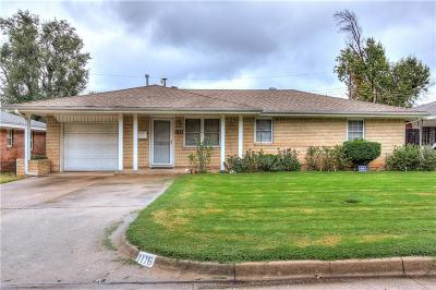 Del City Single Family Home For Sale: 1116 Vickie Drive