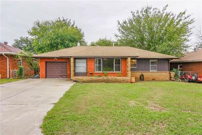 Midwest City Single Family Home For Sale: 2204 Maple
