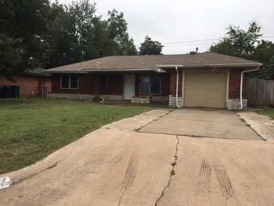 Oklahoma City OK Single Family Home For Sale: $61,500