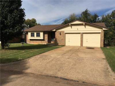 Del City Single Family Home For Sale: 4221 Spiva Drive