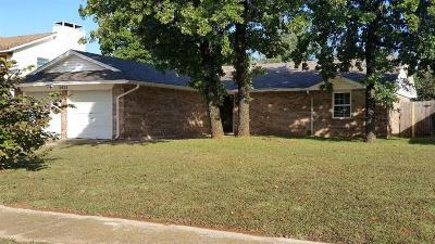 Del City Single Family Home For Sale: 3425 Royalwood Circle