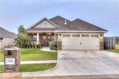Edmond Single Family Home For Sale: 18504 Winamack