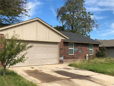Midwest City Single Family Home For Sale: 10205 Isaac Drive
