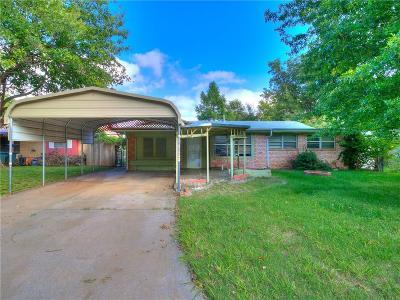 Del City Single Family Home For Sale: 860 S Scott Street