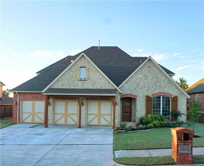 Edmond Single Family Home For Sale: 5800 Hardwick Lane
