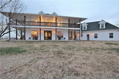 Mustang Single Family Home For Sale: 9901 S Cemetery Road