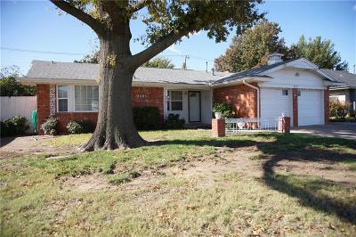 Oklahoma City OK Single Family Home For Sale: $135,500
