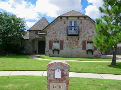 Edmond Single Family Home For Sale: 14701 Elmtree