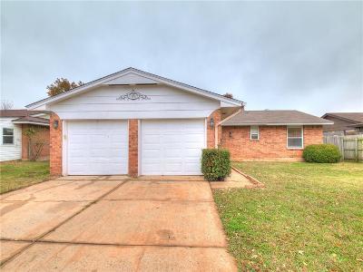 Oklahoma City OK Single Family Home For Sale: $106,500