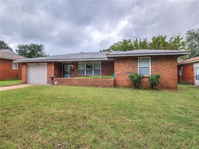 Midwest City Single Family Home For Sale: 909 General Senter Drive