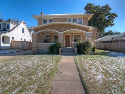 Norman Single Family Home For Sale: 1115 Classen Boulevard
