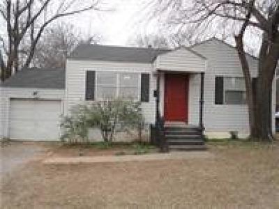 Oklahoma City OK Single Family Home For Sale: $65,000