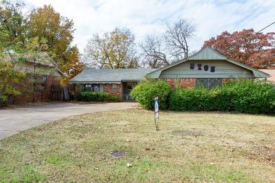 Oklahoma City OK Single Family Home For Sale: $68,900