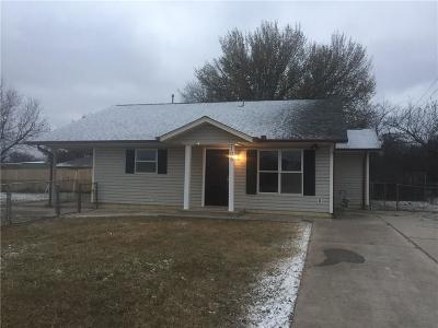 Moore OK Single Family Home For Sale: $109,900