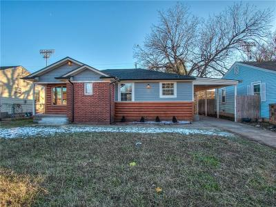 Midwest City Single Family Home For Sale: 118 W Lilac Lane