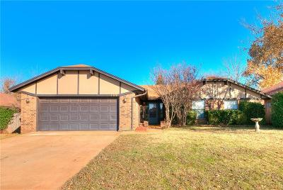 Edmond Single Family Home For Sale: 109 Raton