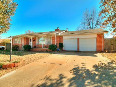 Midwest City Single Family Home For Sale: 310 E Ridgewood
