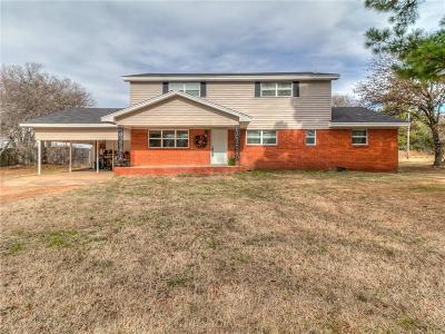 Norman Single Family Home For Sale: 6329 E Rock Creek Road