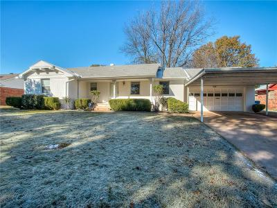 Midwest City Single Family Home For Sale: 3605 Shadybrook