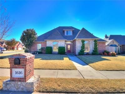 Edmond Single Family Home For Sale: 1616 Indian Springs