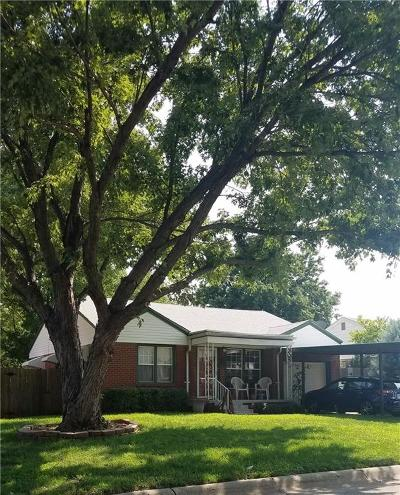Oklahoma City Single Family Home For Sale: 3832 NW 22nd Street