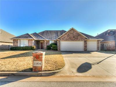 Oklahoma City Single Family Home For Sale: 11804 Blue Bell Avenue