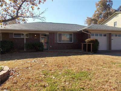 Oklahoma City OK Single Family Home For Sale: $124,900