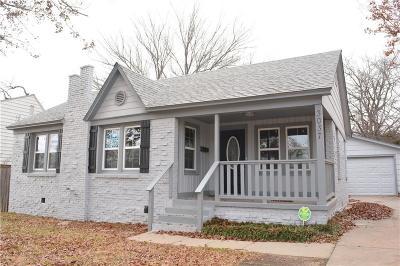 Oklahoma City OK Single Family Home For Sale: $95,000