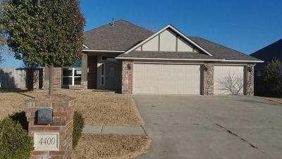 Single Family Home For Sale: 4400 Melrose Drive
