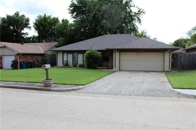 Edmond Single Family Home For Sale: 3305 Beverly Drive