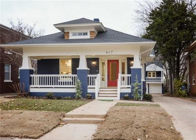 Oklahoma City Single Family Home For Sale: 617 NW 19th Street