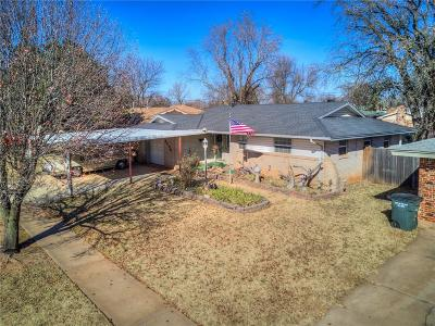 Del City Single Family Home For Sale: 3209 Dentwood Terrace