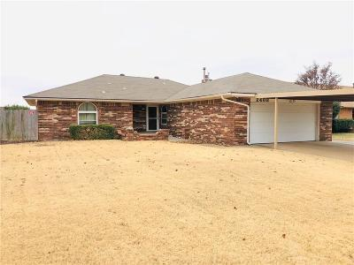 Single Family Home For Sale: 2408 SW 100th Street