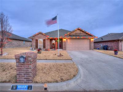 Yukon Single Family Home For Sale: 1000 Cimarron Creek Drive