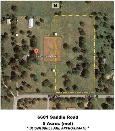 Edmond Residential Lots & Land For Sale: 6603 Saddle Road